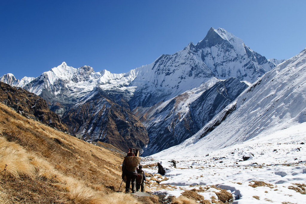 Machapuchhre Annapurna Base Camp Trek