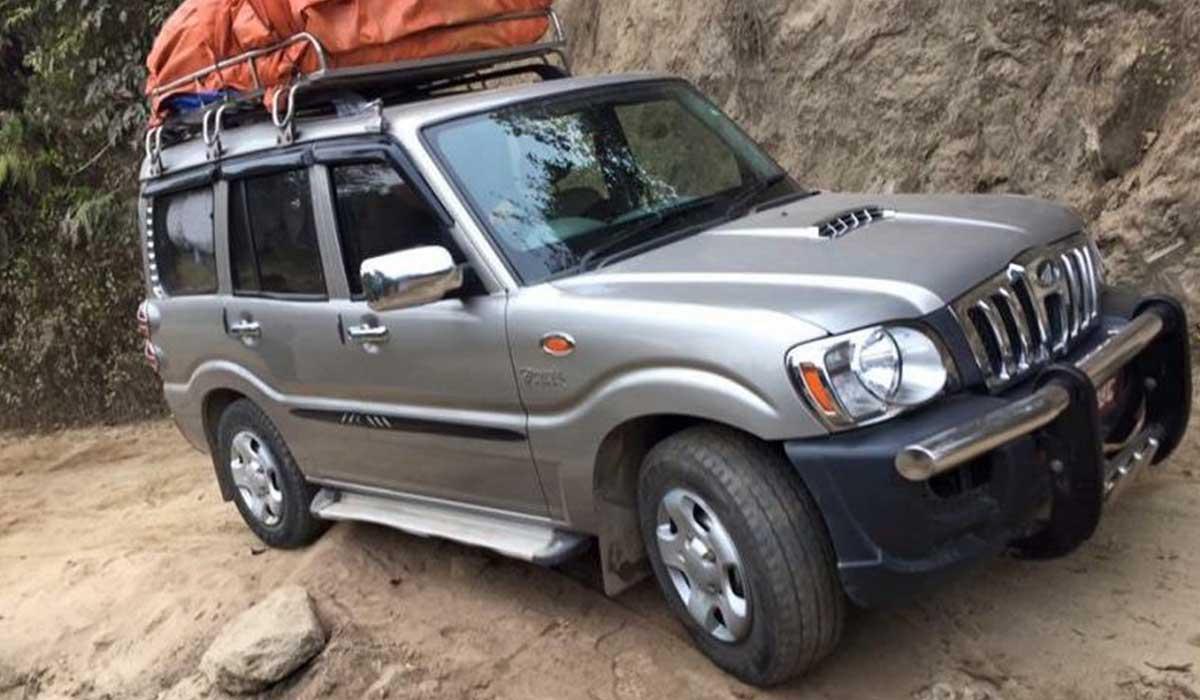 jeep ride to Syabru besi